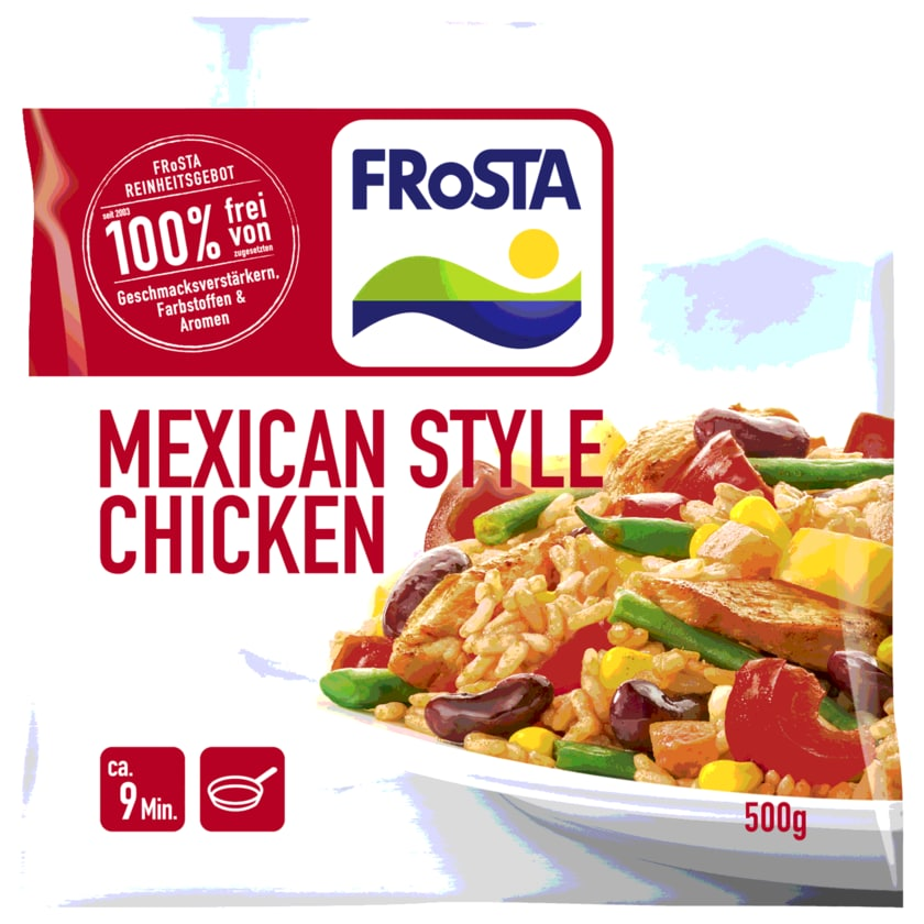 Frosta Mexican Style Chicken 500g