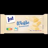 ja! Weiße Schokolade 100g