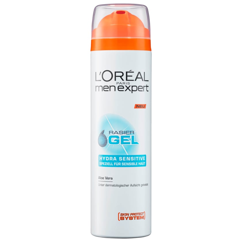 L'Oreal Men Expert Rasier-Gel Hydra Sensitiv 200ml