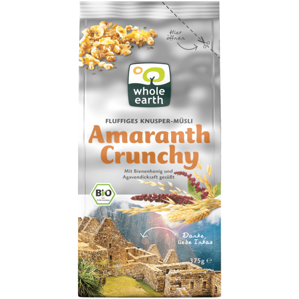 Whole Earth Amaranth Crunchy 375g