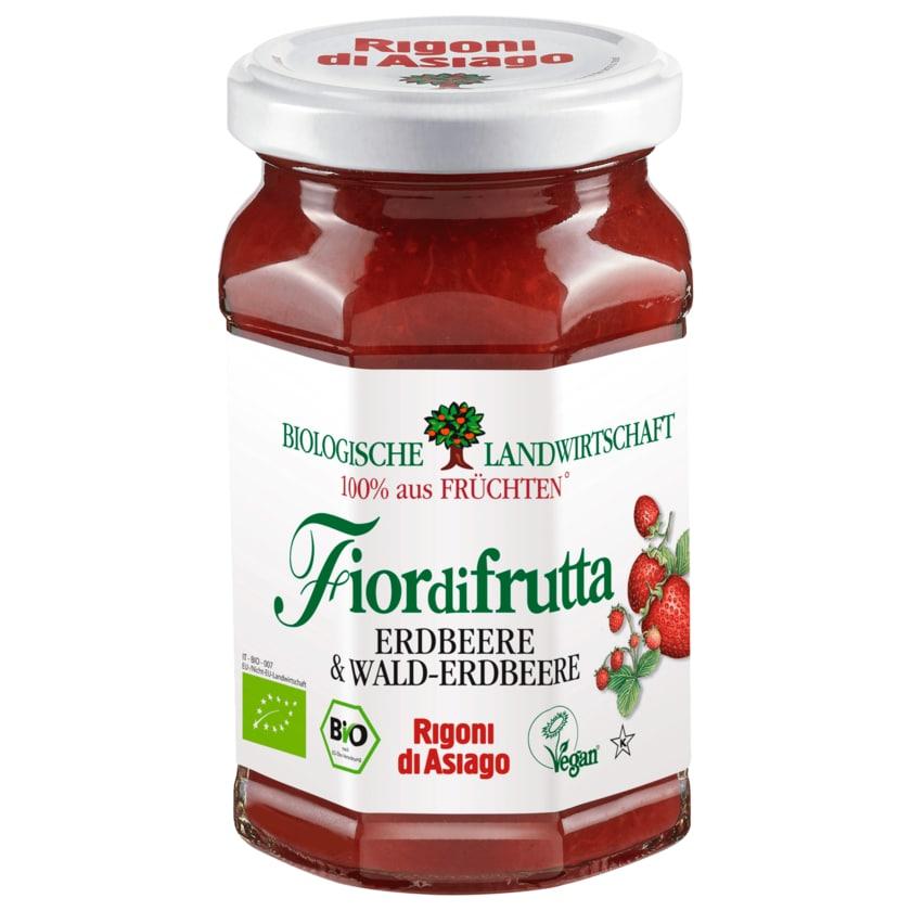 Rigoni di Asiago Bio Fiordifrutta Erdbeere & Wald-Erdbeere 250g