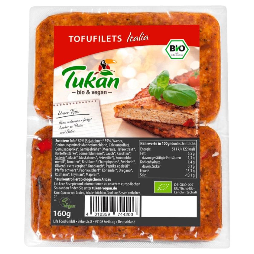 Tukan Bio Tofufilet Italia vegan 160g