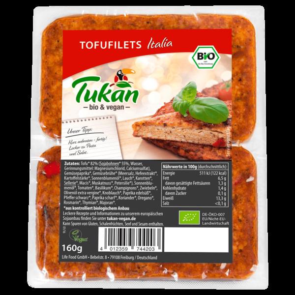 Tukan Bio Tofufilet Italia 160g