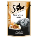 Sheba Delikatesse in Gelee mit Truthahn 85g