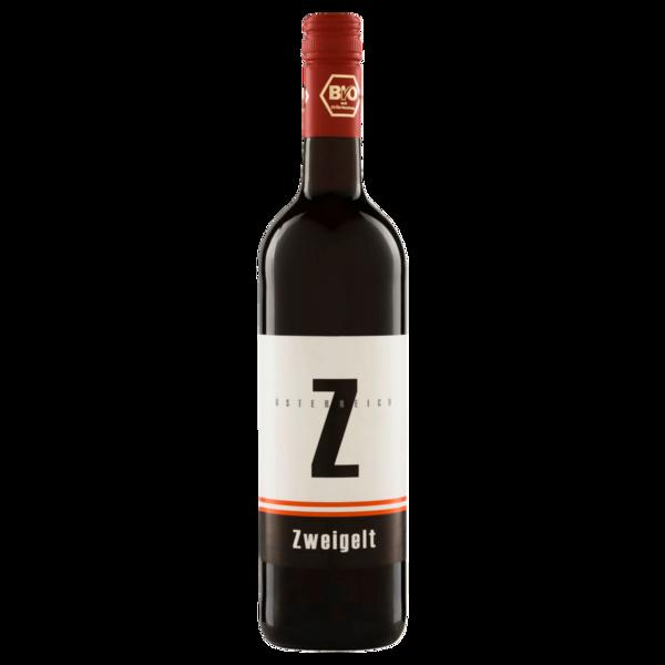 Zweigelt Rotwein Bio Rotwein trocken 0,75l
