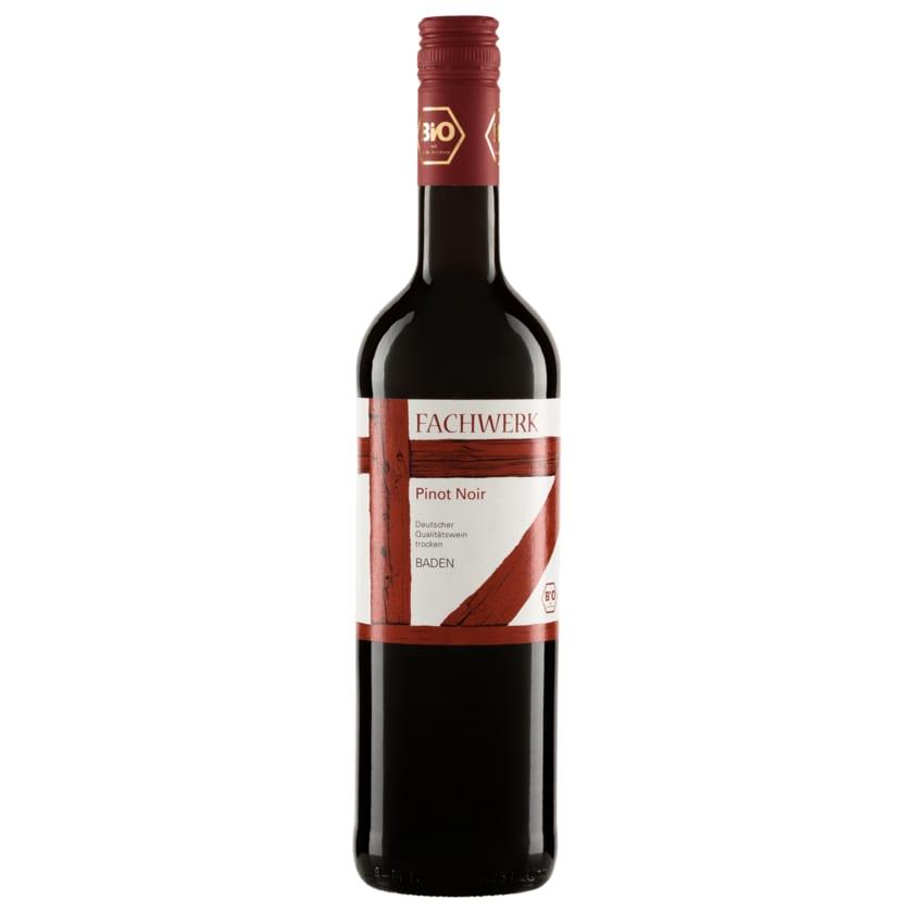 Fachwerk Bio Rotwein Pinot Noir trocken 0,75l