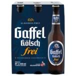 Gaffel Kölsch Frei alkoholfrei 6x0,33l