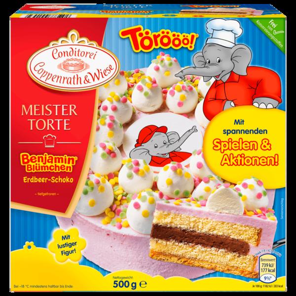 Benjamin Blümchen Torte Zutaten