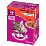 Whiskas 7+ Klassische Auswahl in Sauce 12x100g