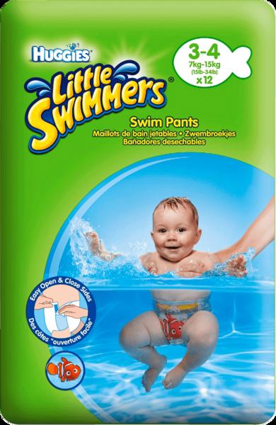 Huggies Little Swimmers Small Gr. 3-4 12 Stück
