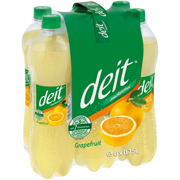 Deit Grapefruit 6x0,75l
