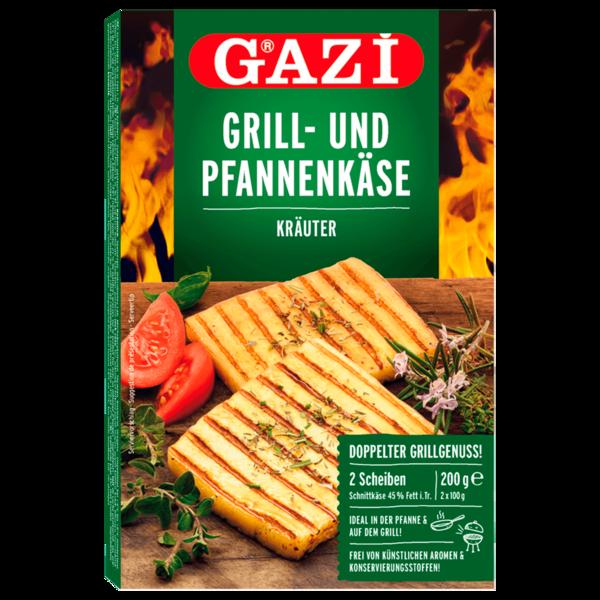 Gazi Grill- und Pfannenkäse Mediterrane Kräuter 2x100g