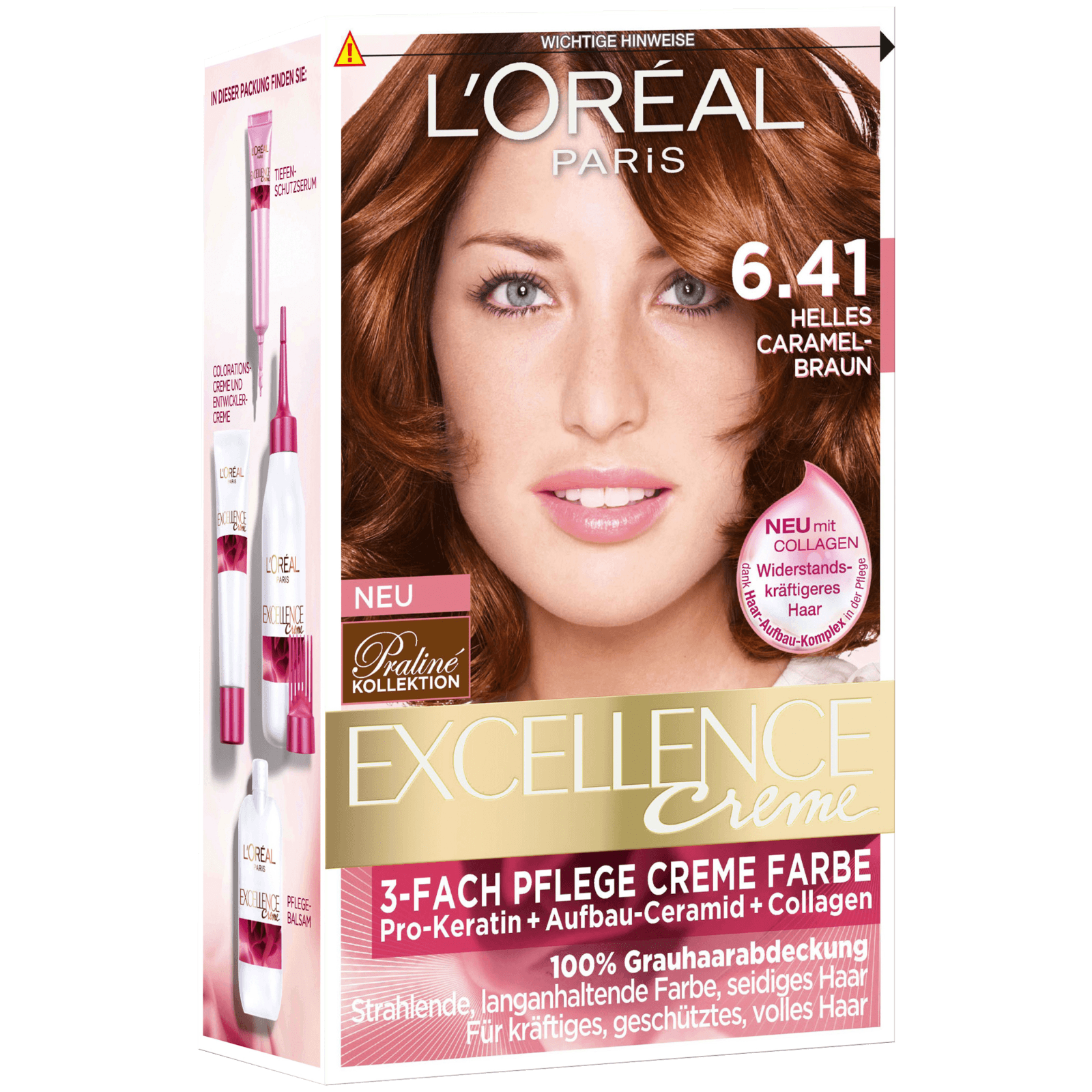 L Oréal Paris Excellence 6 41 Sehr Helles Caramelbraun Bei Rewe