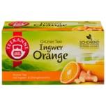 Teekanne Grüner Tee Ingwer-Orange 35g, 20 Beutel