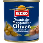 Ibero Manzanilla-Oliven mit Sardellenpaste 85g