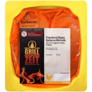 Wilhelm Brandenburg Putenbrust-Steaks Barbecue-Joghurt ca. 330g, 2 Stück