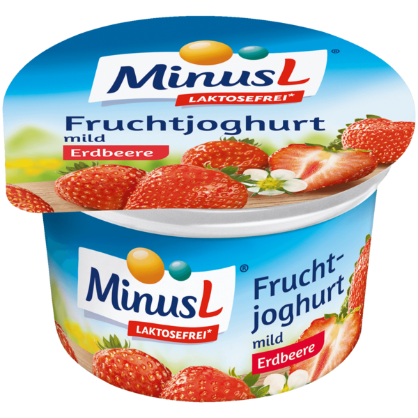 MinusL Fruchtjoghurt Erdbeere 150g