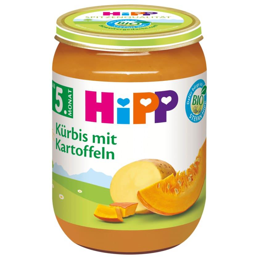 Hipp Bio Kürbis mit Kartoffeln 190g