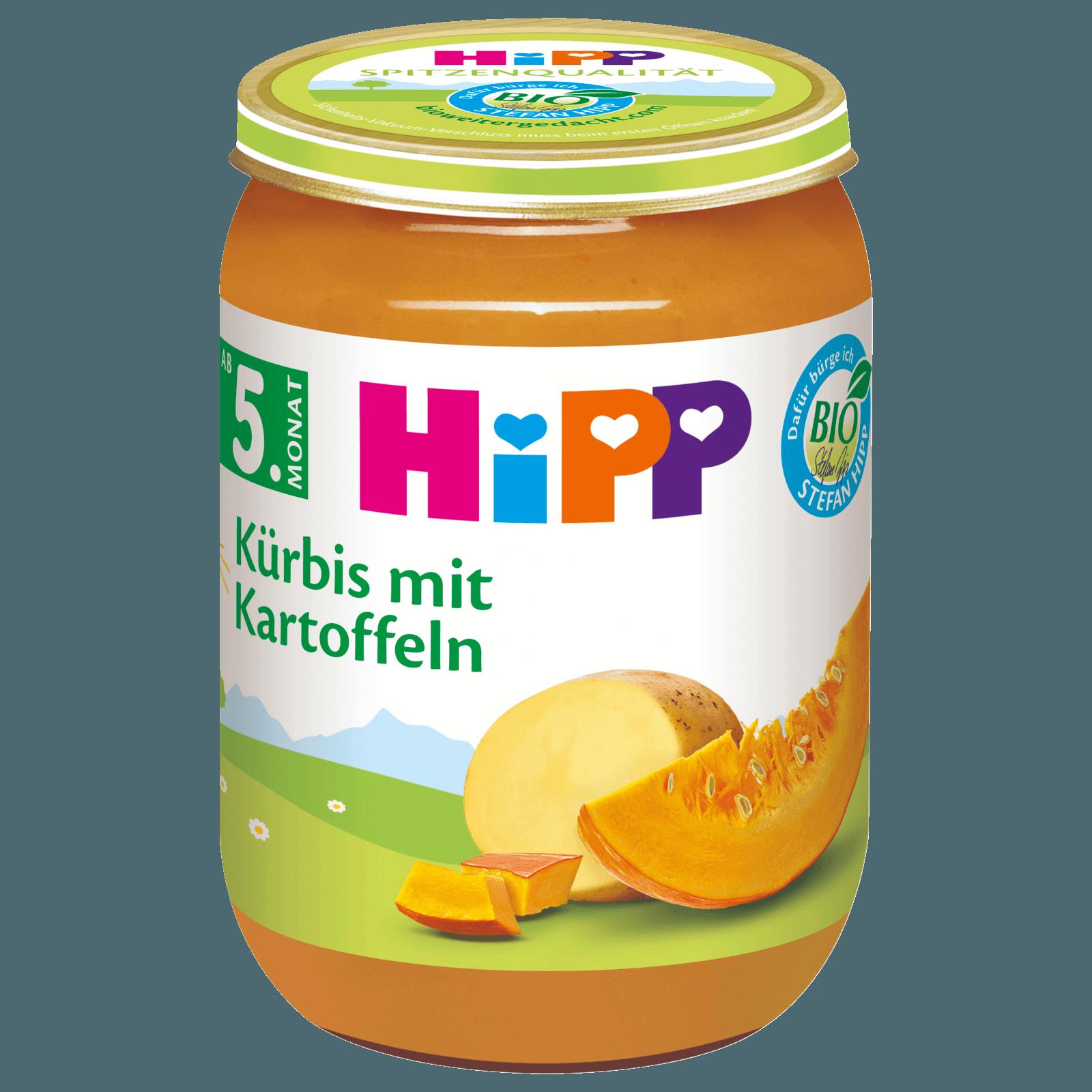 Hipp Kürbis mit Kartoffeln 190g