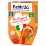 Bebivita Mini-Rigatoni mit Sauce Bolognese 250g