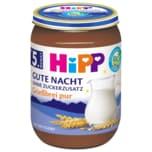 Hipp Gute Nacht Bio Grießbrei pur ohne Zuckerzusatz 190g