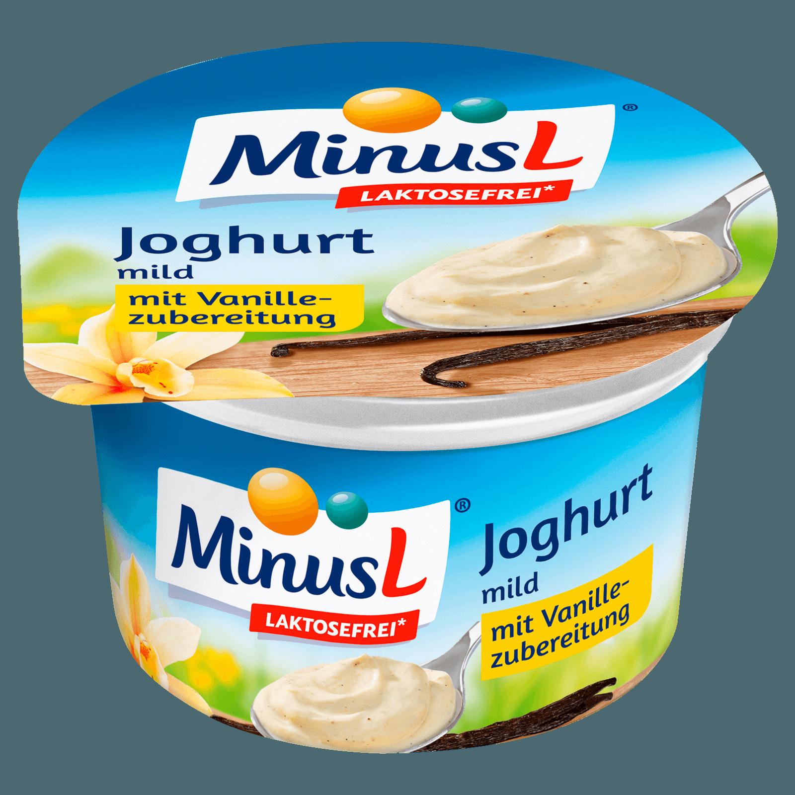 MinusL Fruchtjoghurt Vanille 150g