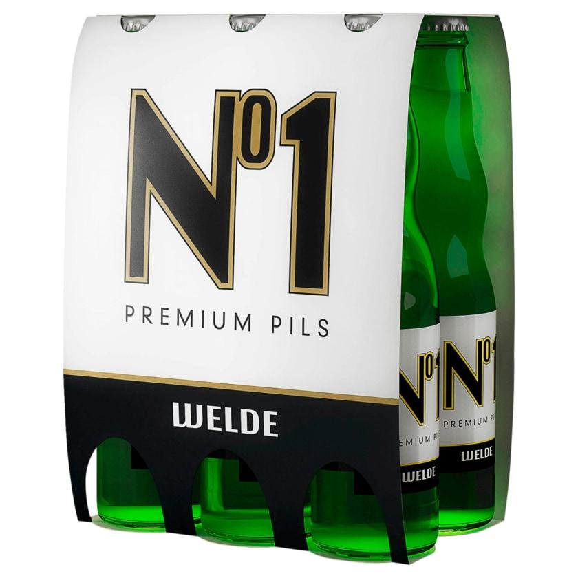 Welde No1 Premium Pils 6x0,5l