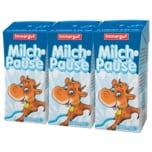 Immergut Milchpause H-Vollmilch 3,5% 3x200ml
