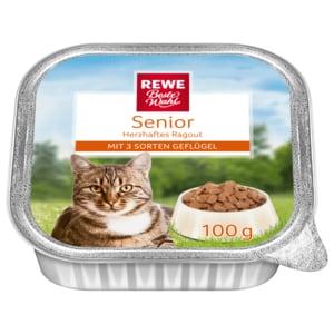 REWE Beste Wahl Senior Ragout mit 3 Sorten Geflügel 100g