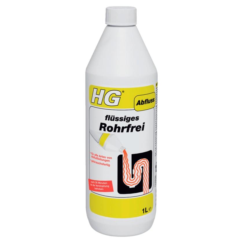 HG flüssiges Rohrfrei 1l