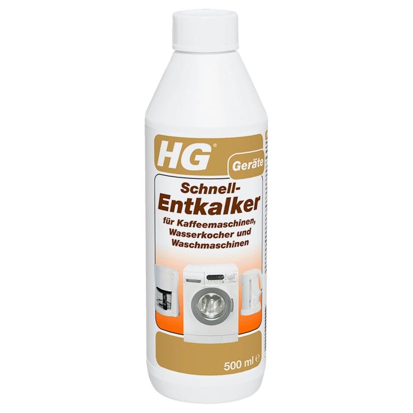 HG Geräte Schnell-Entkalker 500ml
