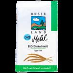 Unser Land Bio Dinkelmehl Type 630 1kg