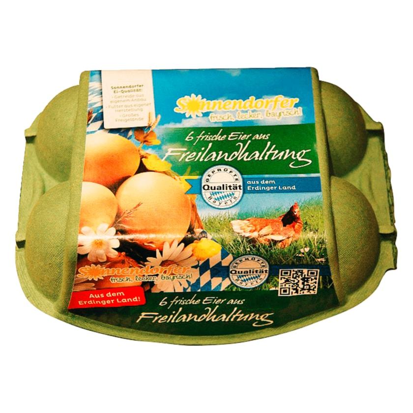 Sonnendorfer Frische Eier Freilandhaltung 6 Stück