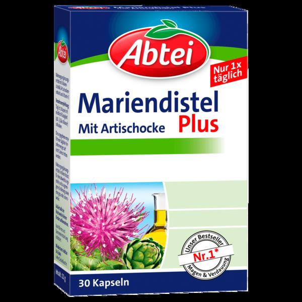 Abtei Mariendistel Plus mit Artischocke 30 Kapseln