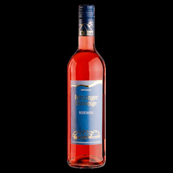 Metzinger Hofsteige Rosé Qualitätswein halbtrocken 0,75l