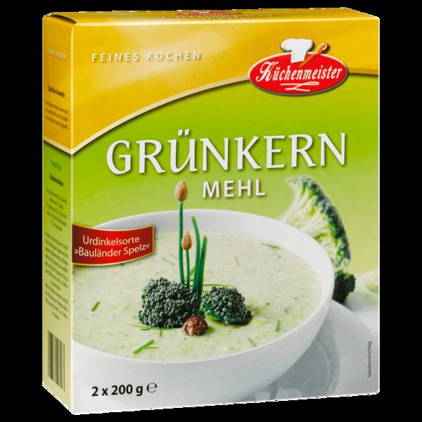 Küchenmeister Grünkernmehl 400g