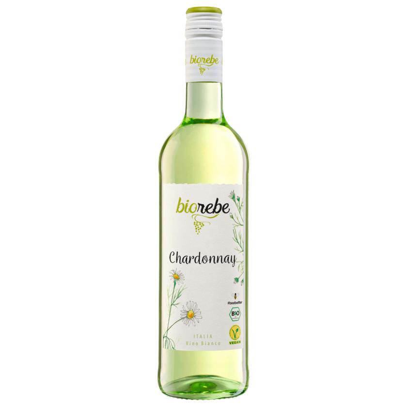 Biorebe Weißwein Chardonnay trocken 0,75l