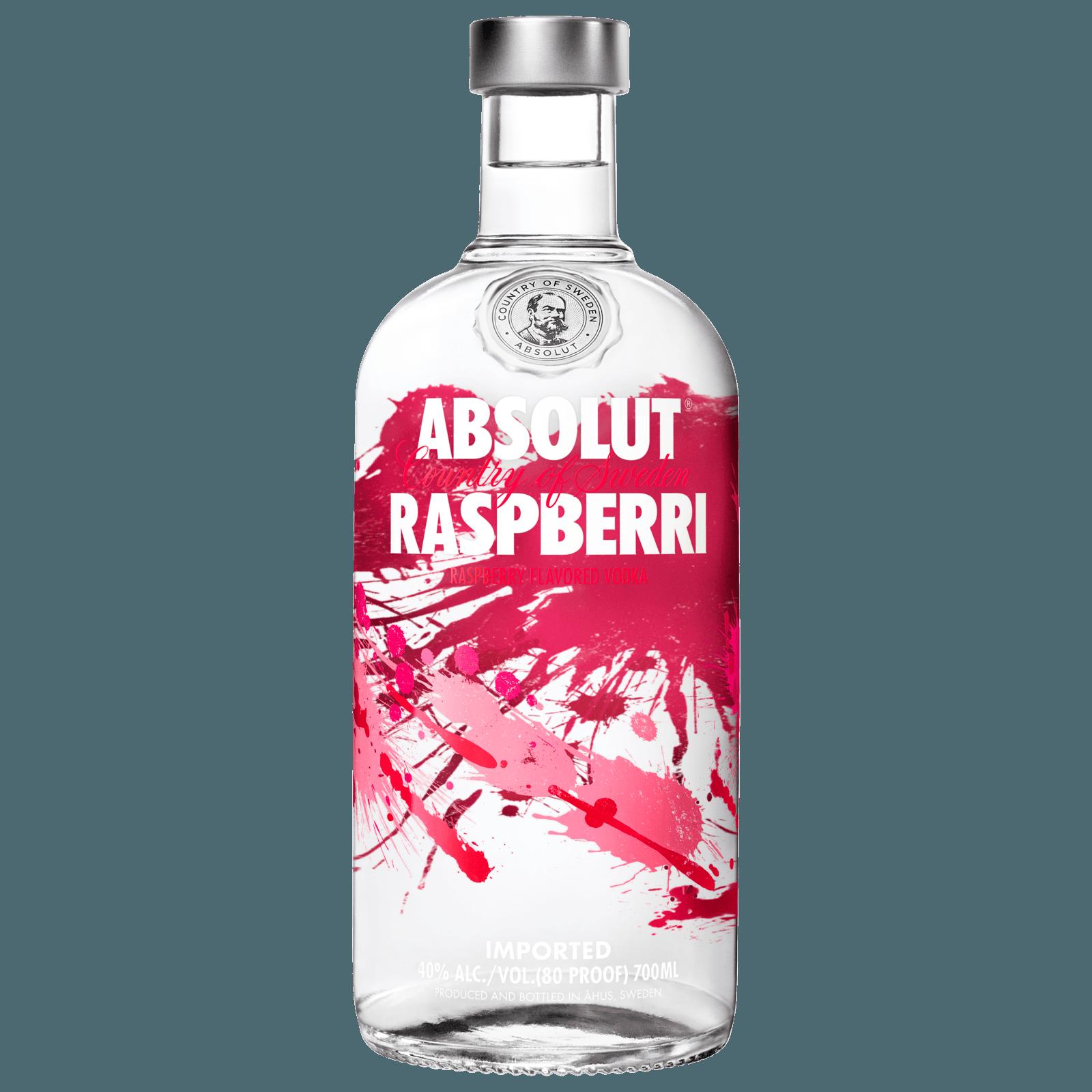 Absolut Vodka Raspberri 0 7l Bei Rewe Online Bestellen