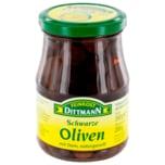 Feinkost Dittmann Schwarze Oliven mit Stein naturgereift 200g