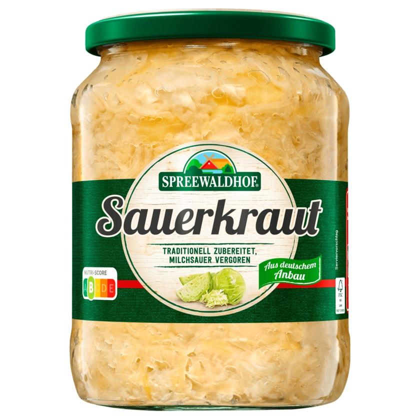 Spreewaldhof Sauerkraut 650g