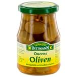 Feinkost Dittmann Queens-Oliven gefüllt mit Knoblauchzehen 190g