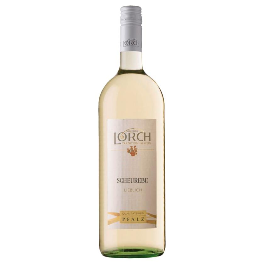 Lorch Weißwein Scheurebe QbA lieblich 1l