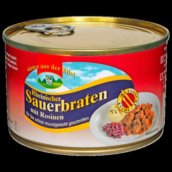 Gutes aus der Eifel Rheinischer Sauerbraten mit Rosinen 400g