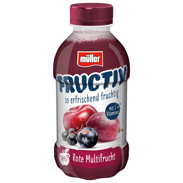 Müller Fructiv Roter Multivitamin 440ml