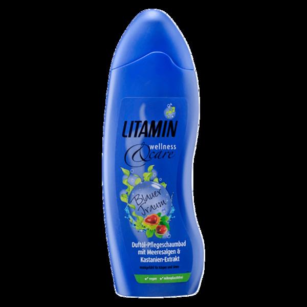 Litamin Wellness&Care Blauer Traum Pflege-Schaumbad 750ml