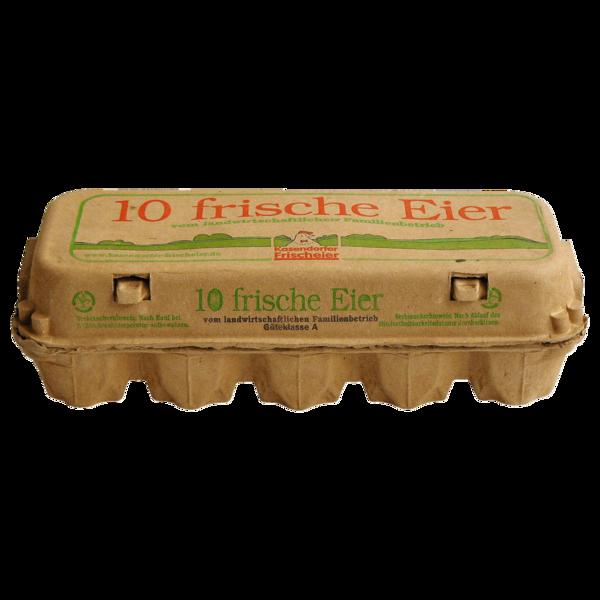 Kasendorfer Frischeier Bodenhaltung 10 Stück