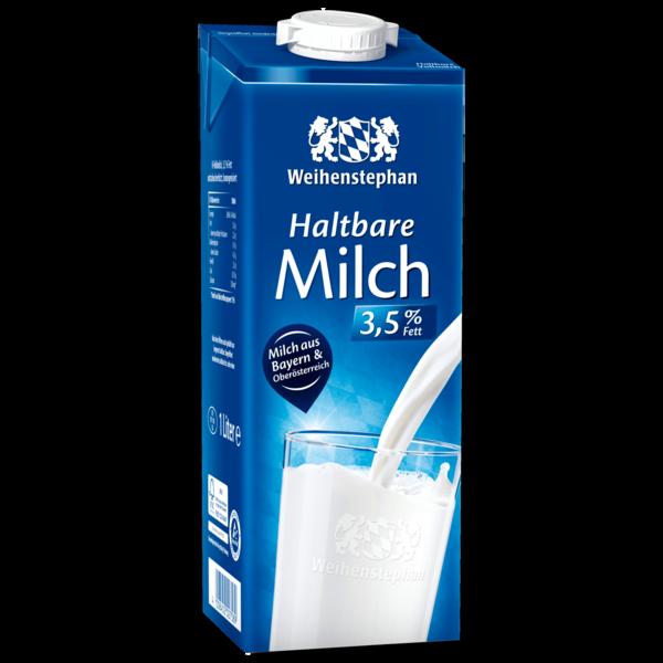 Weihenstephan H-Milch 3,5% 1l