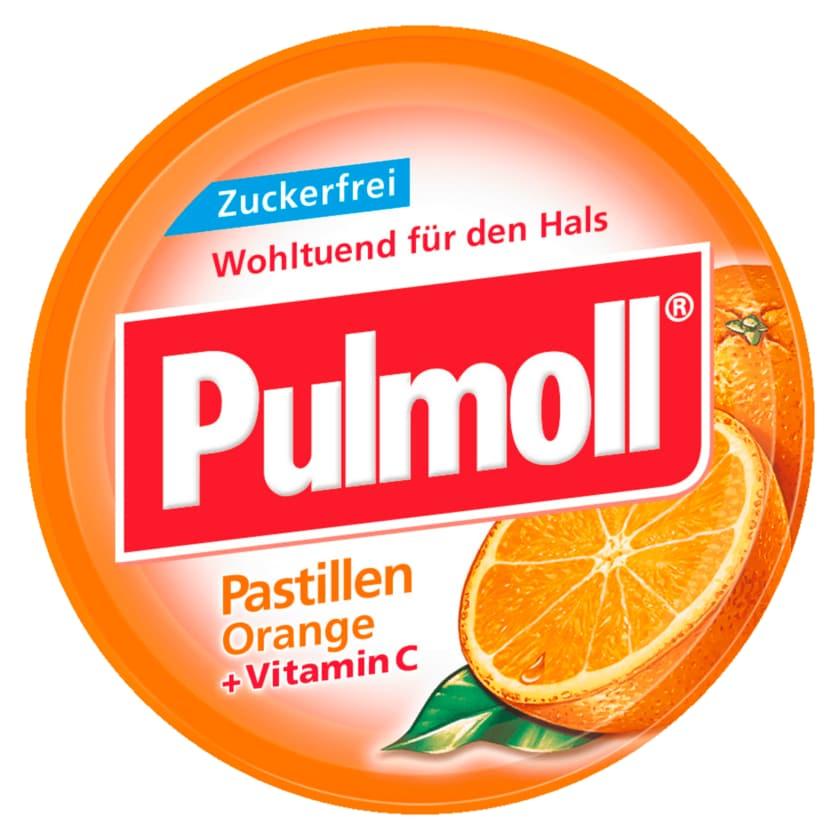 Pulmoll Hustenbonbons Orange zuckerfrei 50g