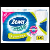 Zewa Wisch & Weg Küchenrollen Reinweiss 8x45 Blatt