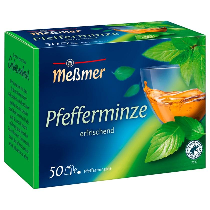 Meßmer Pfefferminz 112g, 50 Beutel